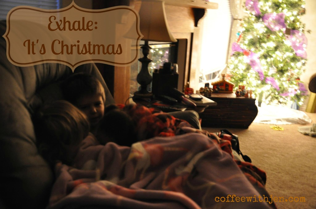 Exhale It's Christmas