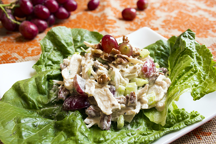 Skinny Chicken Salad from skinnymom.com