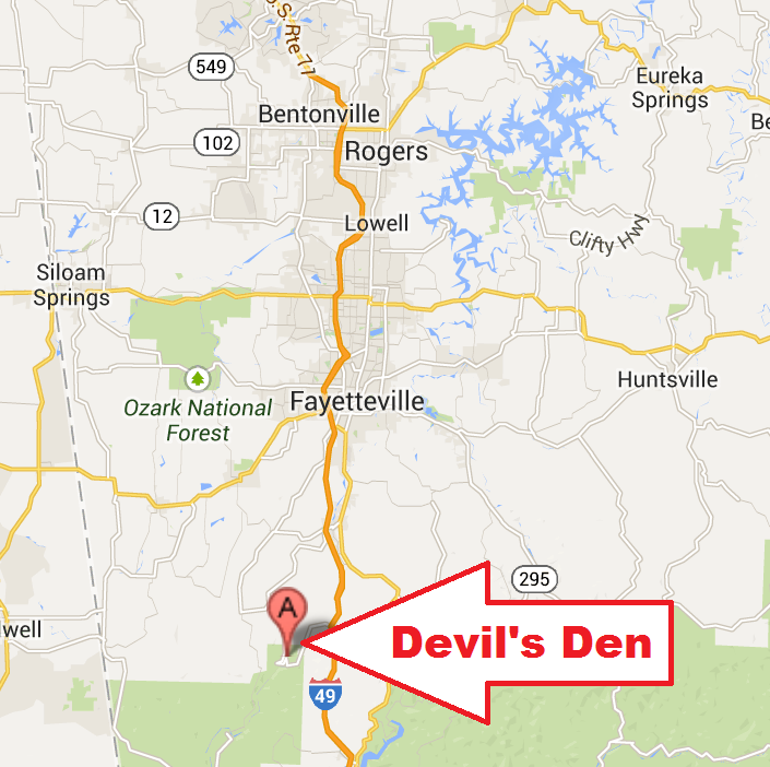 Devils Den Arkansas Map.Devil S Den State Park Nwa Day Trip Coffeewithjen