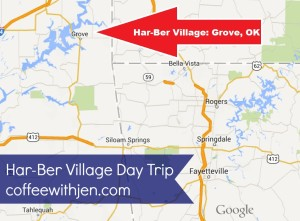 NWA Day Trips.  Har-Ber Village: Grove, OK.