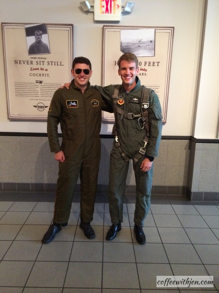These guys love their jobs!  They had the Top Gun soundtrack playing over the sound system.