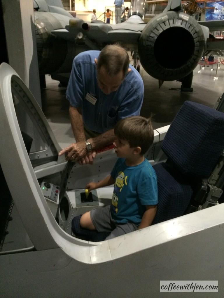 Flight simulator.