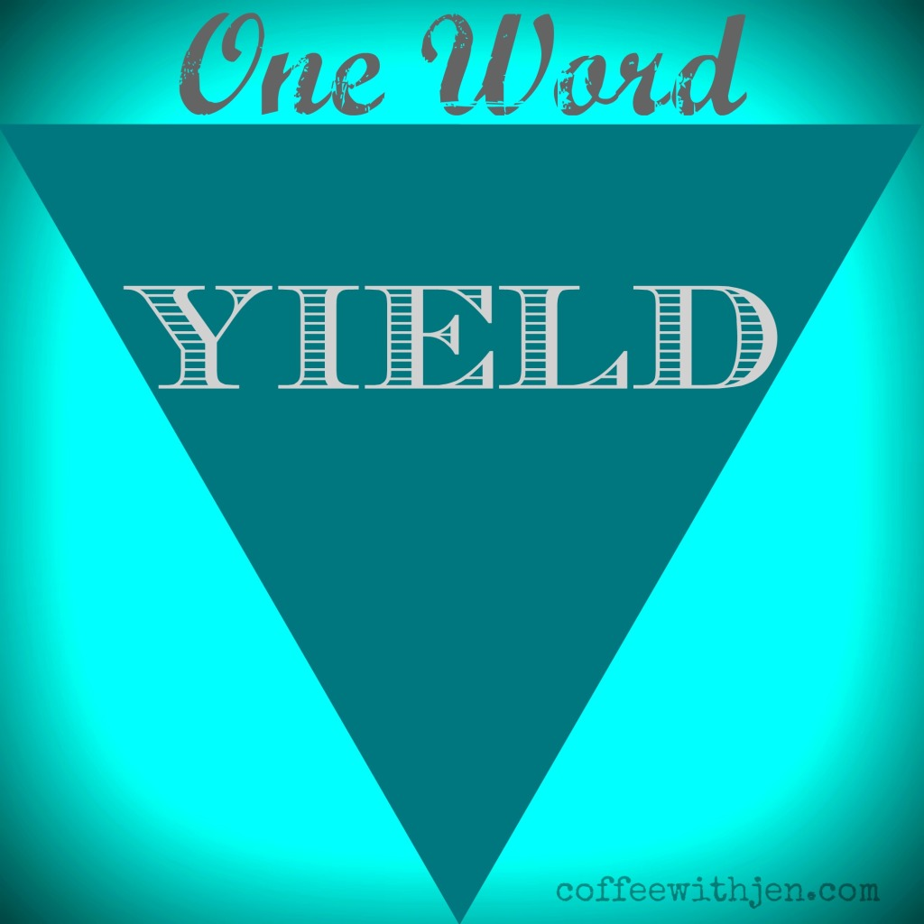 oneword2015yield